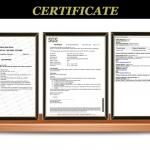 Roniki Certificates